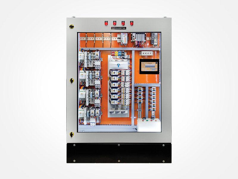 smart electrical distribution control panel