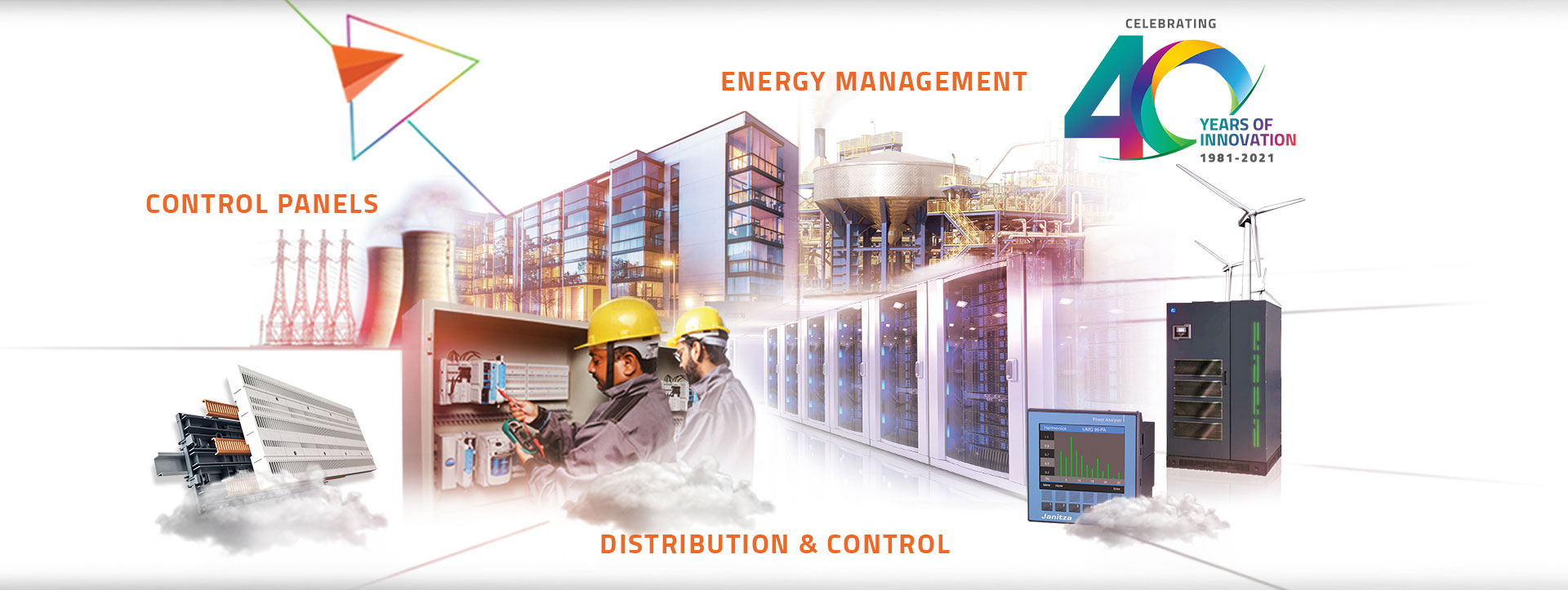 smart electrical distribution control panel